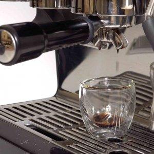 Overextracted espresso