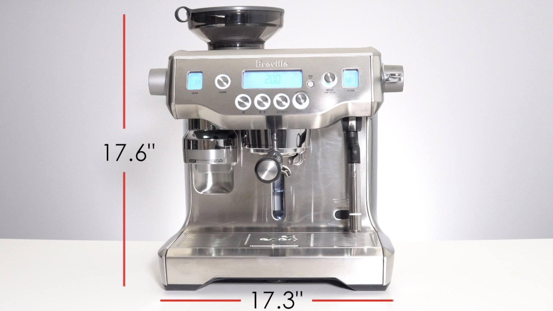Breville Oracle Dimensions